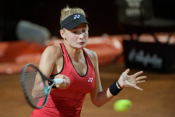 Yastremska's key shot will be her forehand/Photo: Clive Brunskill/Getty Images