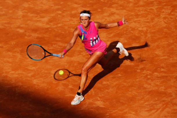 Azarenka made the transition to clay in fine fashion/Photo: Clive Brunskill/Getty Images