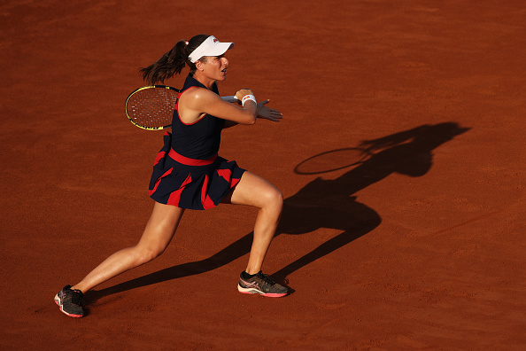 Konta will look to attack, particularly when returning (Image: Clive Brunskill)