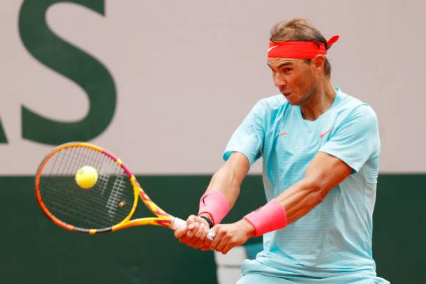 Nadal has had little difficulty over his first two rounds/Photo: Clive Brunskill/Getty Images