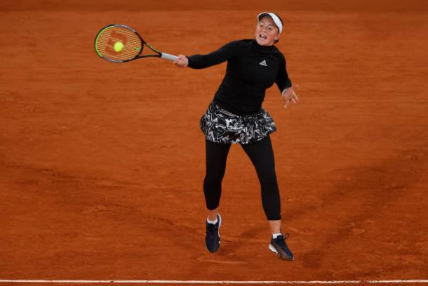 Ostapenko played a clean match throughout/Photo: Clive Brunskill/Getty Images