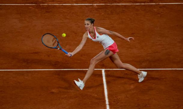 Pliskova suffered another early loss at a Grand Slam/Photo: Clive Brunskill/Getty Images