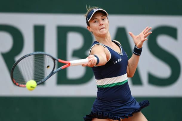 Podoroska is having the finest week of her career and aims to go further/Photo: Shaun Botterill/Getty Images