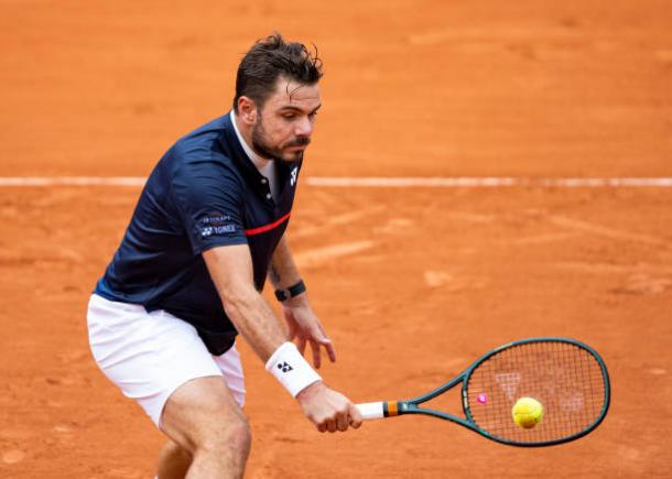 Wawrinka dominated the first set/Photo: TPN/Getty Images