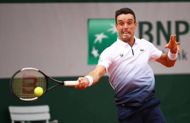 Bautista Agut let a fourth set lead slip away that could have forced a decisive set/Photo: Julian Finney/Getty Images