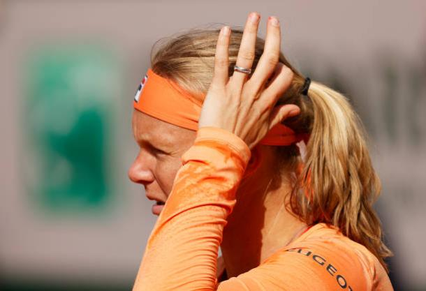 Bertens was left scratching her head after an earlier-than-expected exit/Photo: Clive Brunskill/Getty Images