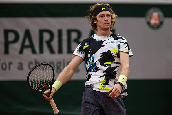 Rublev is one of the form players of 2020 (Image: TPN)