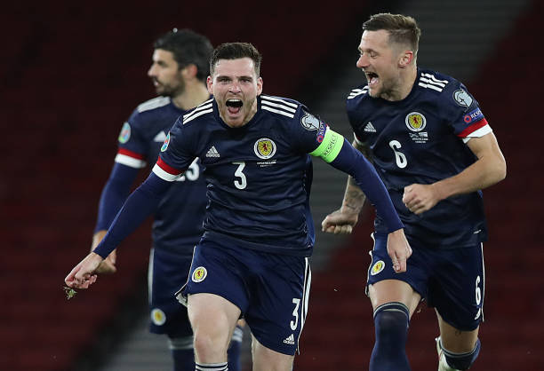 Robertson es el capitán y figura clave de Escocia / Foto: Gettyimages