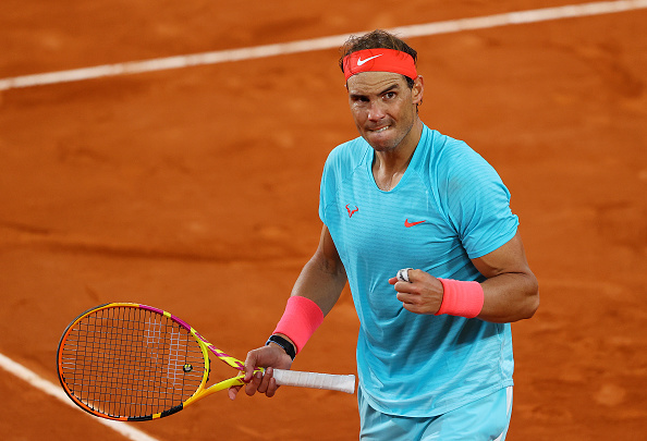 Nadal was impresssive throughout the match (Julian Finney)