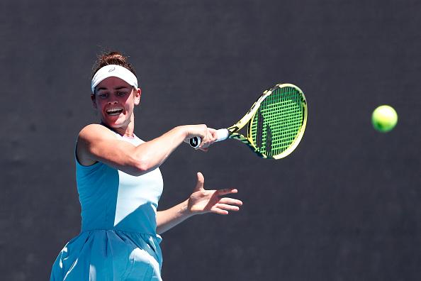 Jennifer Brady has the opportunity for a big run Down Under (Darrian Trainor/Getty Images)