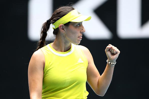 Jessica Pegula upset Victoria Azarenka en route to the fourth round (Matt King/Getty Images)
