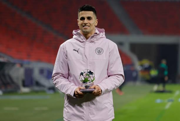 Cancelo recibió el MVP frente al Mönchengladbach / Foto: Gettyimages