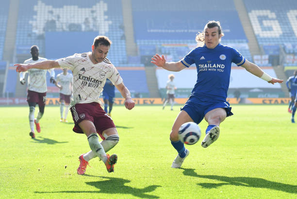 Cedric impressed against Leicester City Photo by David Price via Getty Images