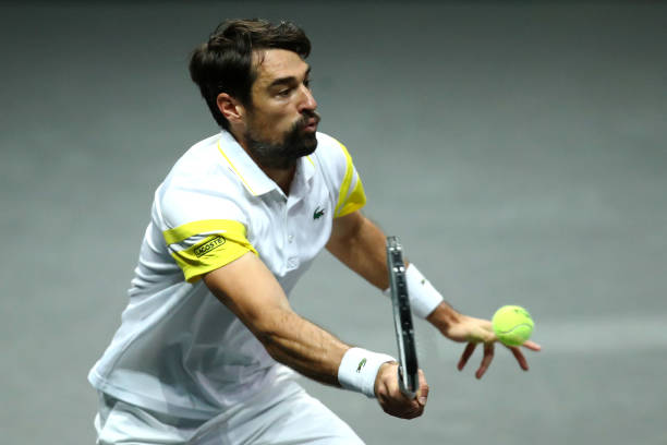 Chardy will look to take the net as often as he can/Photo: Dean Mouhtaropoulos/Getty Images