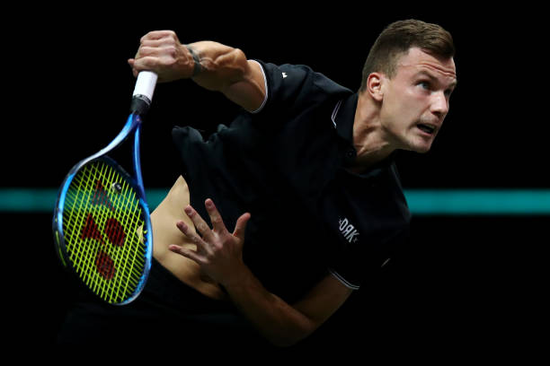 Fucsovics has lost one set all week/Photo: Dean Mouhtaropoulos/Getty Images