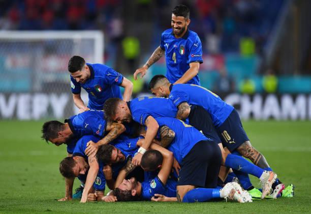 Italia demostró que son una piña / Foto: Gettyimages