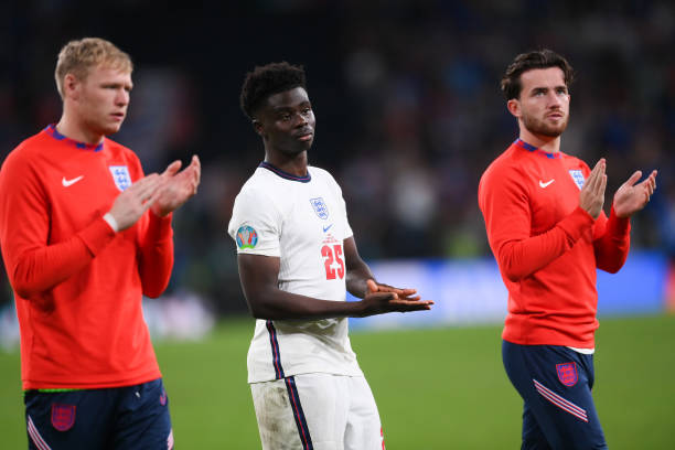 Ramsdale was in England's Euro 2020 squad (Photo by Laurence Griffiths via Getty Images)