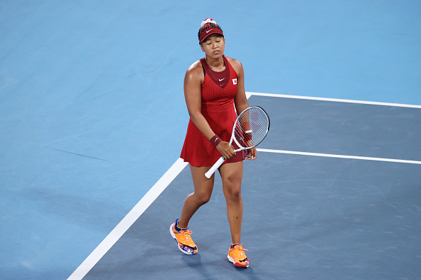 Naomi Osaka just did not find her rhythm at all in the match (Clive Brunskill/Getty Images)