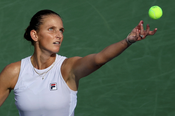 Pliskova's serve has always been one of her best weapons (Dylan Buell/Getty Images)