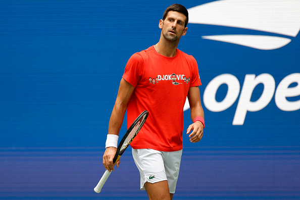 Djokovic looks to make history at the US Open (Sarah Stier/Getty Images)