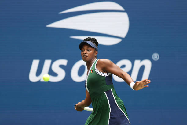Stephens won for the fifth time in seven career meetings against Keys/Photo: Elsa/Getty Images