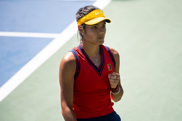 Emma Raducanu has performed well in her first two majors (TPN/Getty Images)