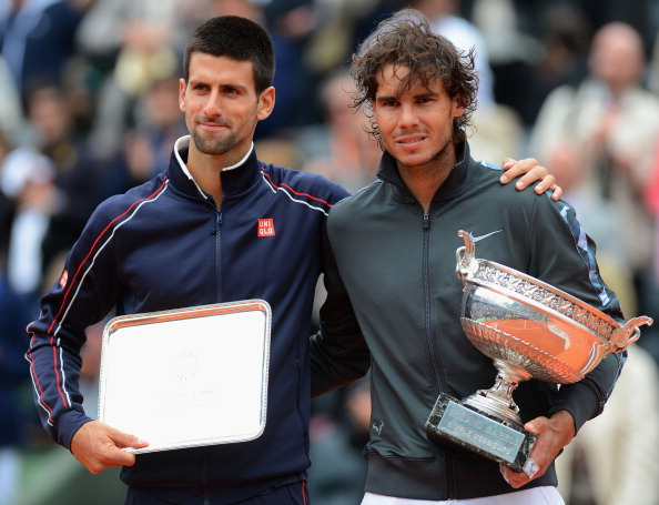 Nadal beat Djokovic in the 2012 French Open final (Image: Mike Hewitt)
