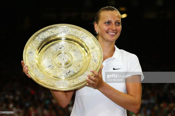 Petra Kvitova is a two-time Wimbledon champion (Getty Images/Clive Brunskill)