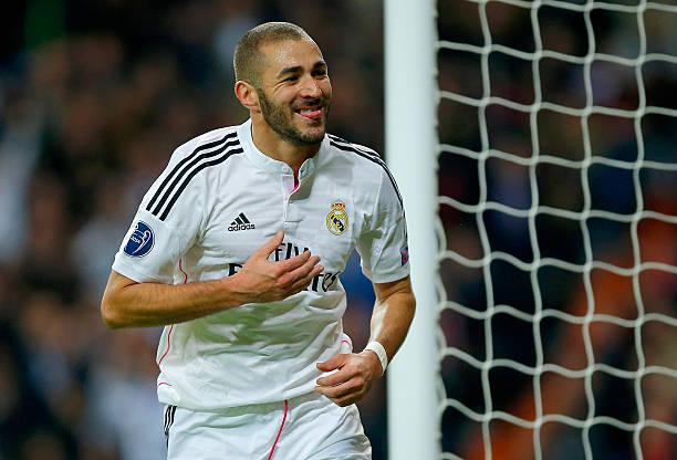 Benzema anotó un doblete en Anfield / Foto: Gettyimages