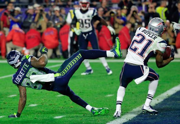 Nel primo Febbraio del 2015 qui si sono interrotti tutti i cuori dei fan dei Seahawks. Fonte Immagine: Getty Images