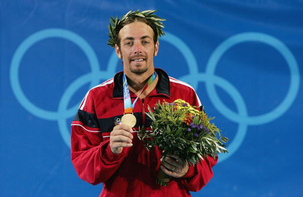 Nicolas Massu won two gold medals in two days in Athens (Image: Clive Brunskill)