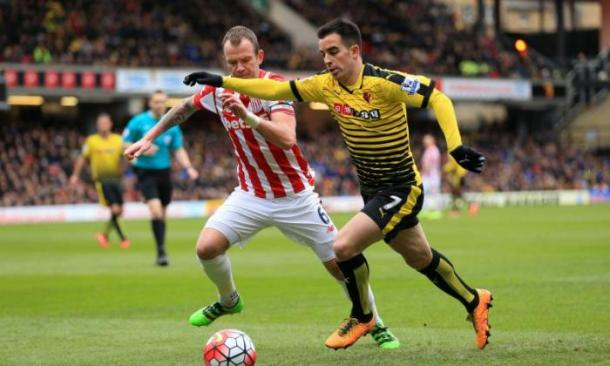 Jurado failed to make an impact at Watford (photo : TalkSport)