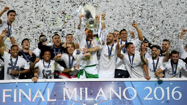 Real Madrid conquistou seu 11º título da Champions League em 2016 (Foto: Getty Images)