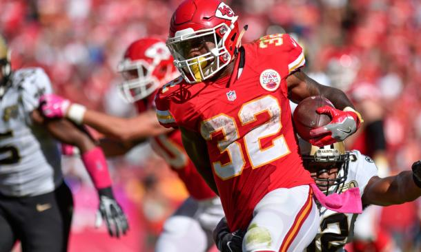 Spencer Ware is expected to be the Chiefs' starting running back going forward | Source: espn.com