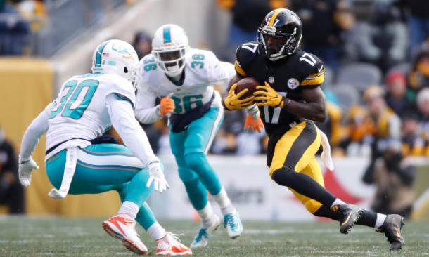 Eli Rogers will be set to start his suspension after the final roster cut | Source: Getty Images