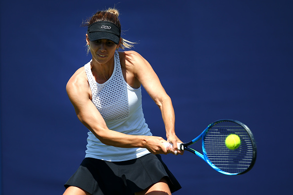 Pironkova is playing her first event in three years (Image: Charlie Crowhurst)