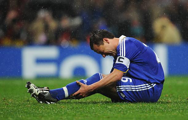 Terry no se podía creer su fallo / Foto: Gettyimages
