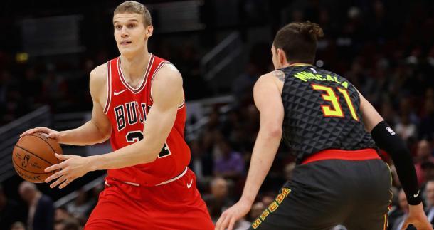 Lauri Markkanen está siendo la nota positiva de los Bulls esta campaña. | Fotografía: Getty Images