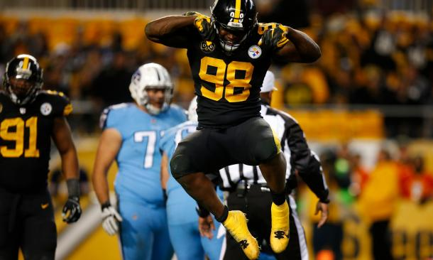 Vince Williams continues his career in Pittsburgh | Source: USA TODAY Sports