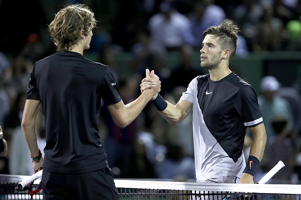 Zverev and Coric will meet for the fourth time (Image: Matthew Stockman)
