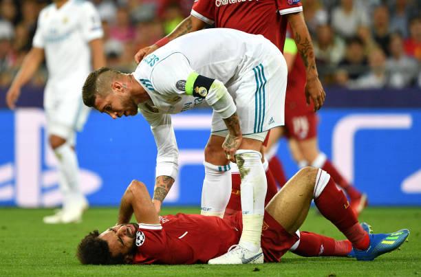 Salah salió llorando del campo / Foto: Gettyimages