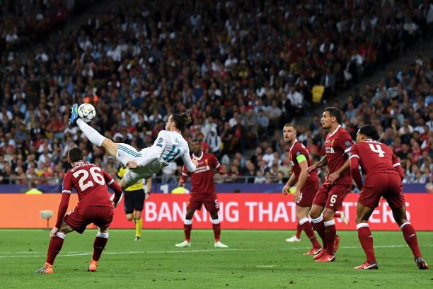 Bale se coronó en Kiev con esta chilena / Foto: Gettyimages