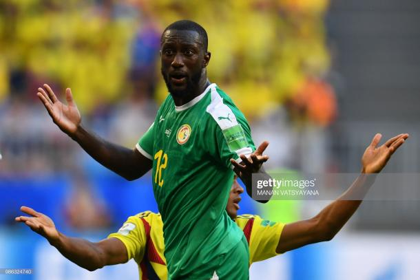 Youssouf Sabaly in action for Senegal against Colombia at the 2018 World Cup (Photo by Manan Vatsyayana/Getty Images)