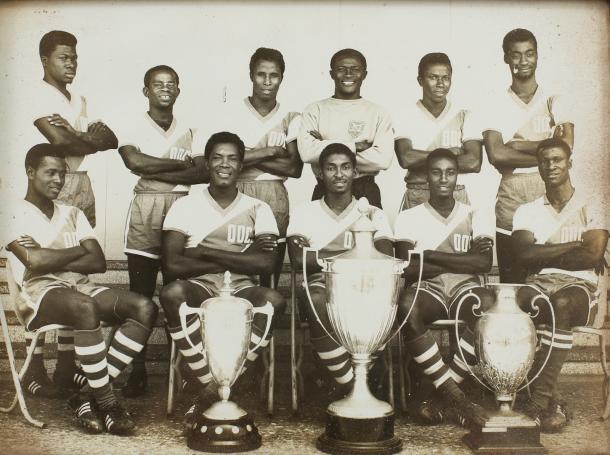 La Selección de Ghana en 1963.