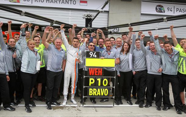 Manor celebra el décimo puesto de Wehrlein en Austria | Fuente: Getty Images