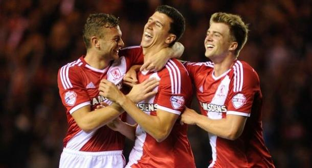 Ben Gibson (L) and Dani Ayala (R) have formed a formidable defensive partnership at Middlesbrough | Photo: Gazette