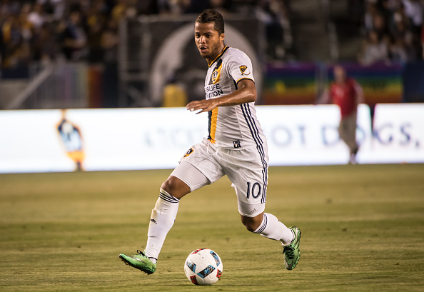 Giovani dos Santos returned from injury but lacked a cutting edge in the Los Angeles Galaxy's 0-0 draw. | Photo: Shaun Clark/Getty Images