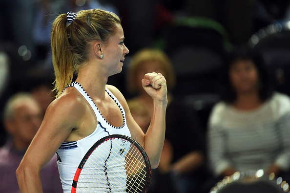 Giorgi Wins For Italy | Photo courtesy of: Anne-Christine Poujoulat (Getty Images)
