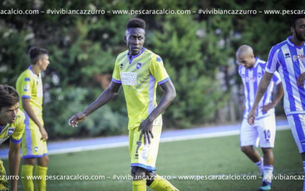 Mamadu Coulibaly, nuovo gioiello del Pescara? (Fonte foto: sito ufficiale Pescara)