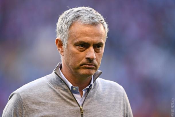 La concentrazione di José Mourinho - Foto MUFC